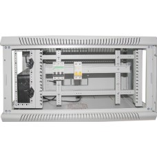 Шкаф настенный 6U, 700X450X390 ММ (Ш*Г*В), расширенный