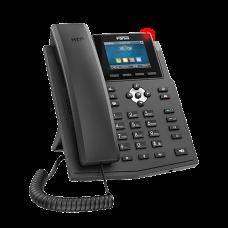 Fanvil X3SG, sip телефон 2 SIP аккаунта, 2 порти LAN Gigabit, кольоровий дисплей, PoE