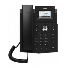 Fanvil X3SG Lite, sip телефон 2 SIP аккаунта, 2 порти LAN Gigabit, матричний дисплей, PoE