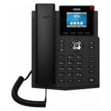 Fanvil X3S Pro, sip телефон 4 SIP аккаунти, HD-аудіо