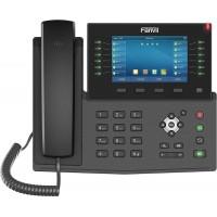 Fanvil X7C, sip телефон с 5-дюймовым экраном, 20 SIP-аккаунтов, PoE