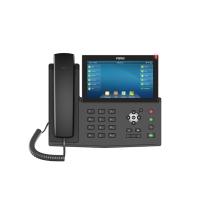 Fanvil X7, sip телефон с большим 7-дюймовым экраном, 20 SIP-аккаунтов, PoE