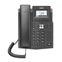 Fanvil X3S Lite, sip телефон 2 SIP аккаунта, 2 порта Ethernet 10/100 Мбит/с