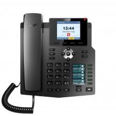 Fanvil X4, sip телефон 4 SIP аккаунта, аудіо HD якості, PoE