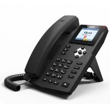 Fanvil X3SP(V2), sip телефон 4 SIP аккаунта, 2 порта Ethernet 10/100 Мбит/с, PoE
