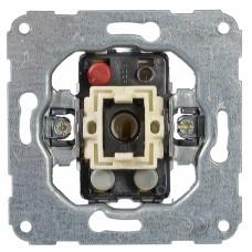 Механизм выключателя универсального с самозажимными клеммами с возможностью подсветки неоновой лампочкою:10 A, 250 В