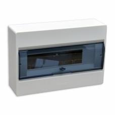 Щит наружной установки с прозрачными дверцами 12 мод. COSMOS