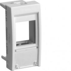 Корпус для одного разъема типа Keystone, 1М Systo белый (22,5х45мм)
