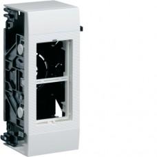 Корпус дополнительный в/у для 2 модулей 45х45мм Systo белый