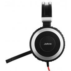 Jabra Evolve 80 MS Stereo - провідна USB стереогарнітура, Microsoft Lync