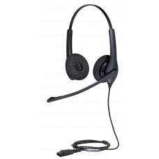 Jabra BIZ 1500 Duo QD (1519-0154), професійна стерео гарнітура для телефонів