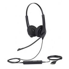Jabra BIZ 1500 Duo USB (1559-0159), професійна стерео гарнітура для ПК і операторів зв'язку