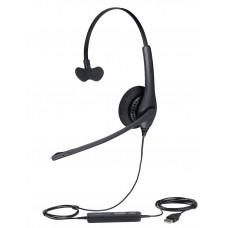 Jabra BIZ 1500 Mono USB (1553-0159), професійна моно гарнітура для ПК і операторів зв'язку