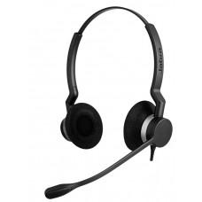 Jabra BIZ 2300 Duo QD (2309-820-104), професійна стерео гарнітура для ip-телефонів