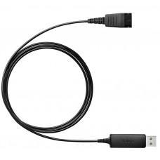 Jabra LINK 230 USB, кабель-адаптер (QD на USB)