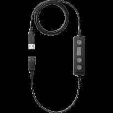 Jabra LINK 260 USB, кабель-адаптер (QD на USB) з керуванням