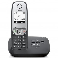 Gigaset A415A Black, радіотелефон DECT з цифровим автовідповідачем