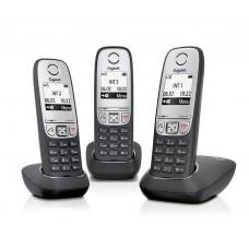 Gigaset A415 TRIO Black, радиотелефон DECT