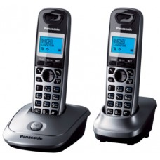 Panasonic KX-TG2512UAM Metallic, радиотелефон DECT