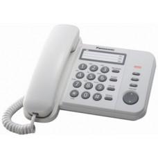 Panasonic KX-TS2352UAW White, проводной телефон