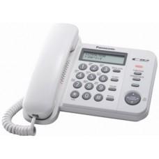 Panasonic KX-TS2356UAW White, проводной телефон