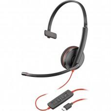 Plantronics BlackWire C3210-C - (209748-22) дротова гарнітура (USB-C)