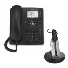 Snom D717 + Snom A170, комплект: sip телефон + DECT гарнитура