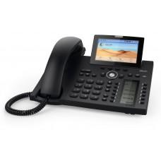 Snom D385,  sip телефон 12 SIP аккаунтов с 4,3-дюймовым цветным дисплеем