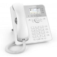 Snom D717 White, sip телефон, 12 SIP линий, 2 Ethernet-порта, PoE