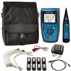 Softing CableMaster 650, комплект кабельного тестера, щупа і аксесуарів
