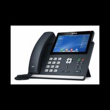 Yealink SIP-T48U, ip телефон, 16 sip-акаунтів, кольоровий сенсорний екран, 2 порти USB, BLF, PoE, GigE