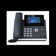 Yealink SIP-T46U, ip телефон, 16 sip акаунтів, кольоровий екран, 2 порти USB, BLF, PoE, GigE