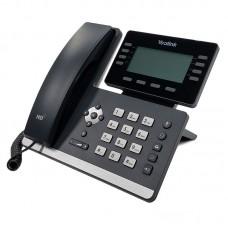 Yealink SIP-T53W, мультимедійний ір телефон, 12 sip-акаунтів, підтримка трубок DECT, Wi-Fi, USB, GigE