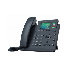 Yealink SIP-T33G, ip телефон, 4 sip-аккаунти, кольоровий екран, PoE, GigE