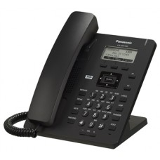 Panasonic KX-HDV100RUB Black, проводной sip-телефон