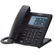 Panasonic KX-HDV330RUB Black, проводной sip-телефон