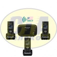 Panasonic KX-TGP600RUB + KX-TPA60RUB - 2шт, комплект SIP-DECT телефонов