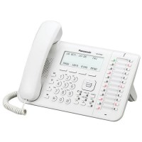 Panasonic KX-DT546RU White, cистемний телефон