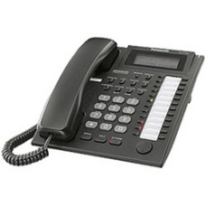 Panasonic KX-T7735UA-B Black, системный телефон