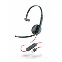 Plantronics BlackWire C3210-A - проводная гарнитура (USB-A)