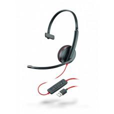Plantronics BlackWire C3210-A - дротова гарнітура (USB-A)