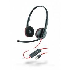 Plantronics BlackWire C3220-A - дротова гарнітура (стерео, USB-A)