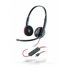 Plantronics BlackWire C3220-C - дротова гарнітура (стерео, USB-C)