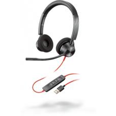 Poly Plantronics BlackWire C3320, BW3320 USB-A, дротова Stereo гарнітура