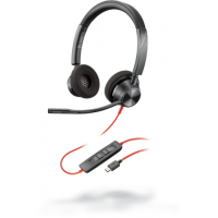 Poly Plantronics BlackWire C3320, BW3320 USB-С, проводная Stereo гарнитура