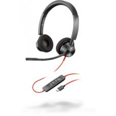 Poly Plantronics BlackWire C3320, BW3320 USB-С, дротова Stereo гарнітура