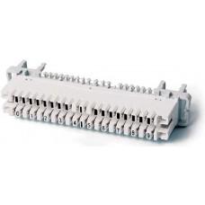 Плінт 10 пар розмикається кріплення на профілі (РТВ), маркування: 0-9, Hypernet