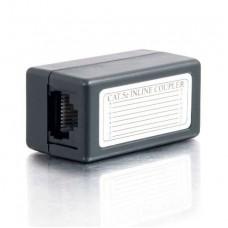 Сполучна коробка UTP 2-х сегментів кабелю з коннекторами
