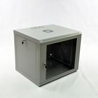 Монтажна шафа 9U, 600х500х507 мм (Ш * Г * В), економ, акрилове скло, серія MGSWL