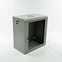 Монтажный шкаф 12U, 600х350х640 мм (Ш*Г*В), эконом, акриловое стекло, серия MGSWL